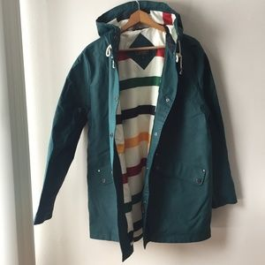 Pendleton Astoria Rain Jacket in Mallard